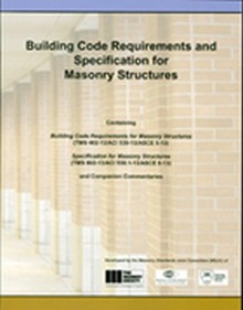 ACI 530/530.1-13 Building Code Requirements and Specs for Masonry Structures