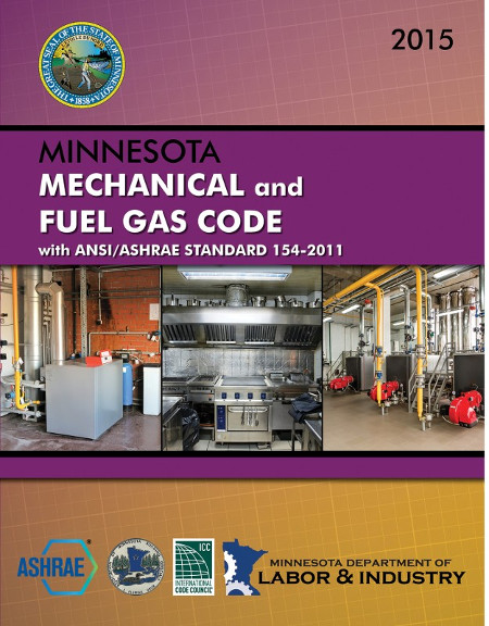 Minnesota Mechanical and Fuel Gas Code With ANSI/ASHRAE Standard 154-2011