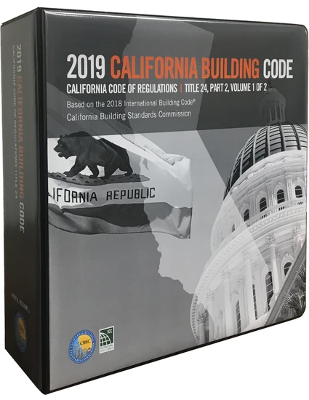 2019 California Building Code - Title 24 Part 2 (Volumes 1 and 2)