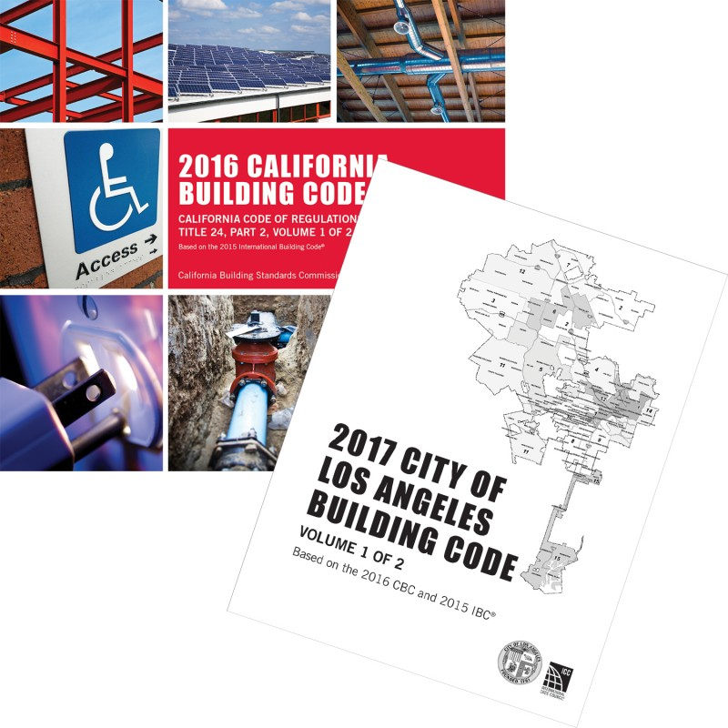 2017 City of Los Angeles Building Code, Two Volume Set