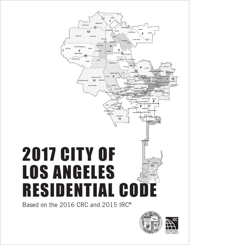 2017 City of Los Angeles Residential Code Amendments