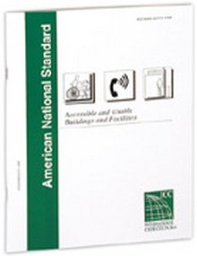 ANSI/ICC A117.1-1998 Accessible and Usable Buildings and Facilities