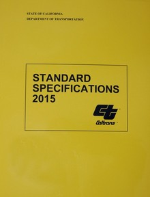 Caltrans Standard Specifications 2015