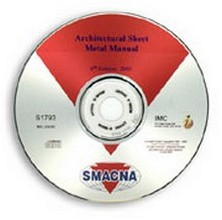 SMACNA - Architectural Sheet Metal Manual, 6th Edition CD-ROM