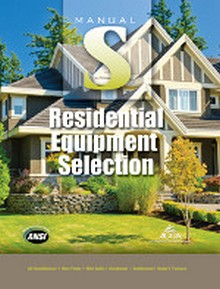 ACCA - Manual S - Residential Equipment Selection, 2nd Edition