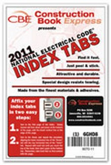 2011 NEC - National Electrical Code Tabs (For Paperback, Looseleaf, & Handbook)
