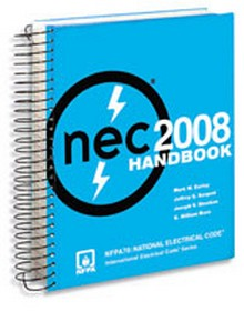 2008 NEC - National Electrical Code Handbook, Spiralbound Edition
