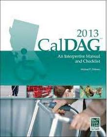 CalDAG 2013: An Interpretive Manual and Checklist
