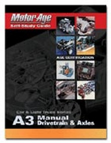 ASE Study Guide - Manual Drivetrain & Axles (Test A3)
