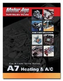 ASE Study Guide - Heating & A/C (Test A7)