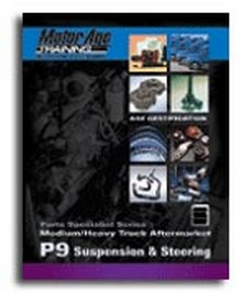 ASE Study Guide - Medium/Heavy Truck Aftermarket Suspension & Steering Parts Specialist (Test P9)