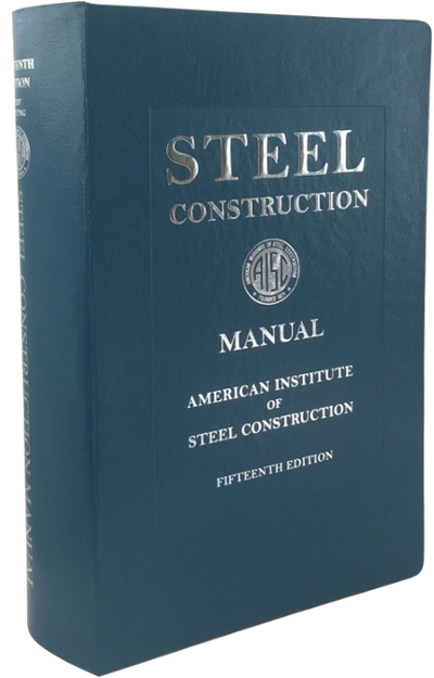 Steel Construction Manual, 15th Edition