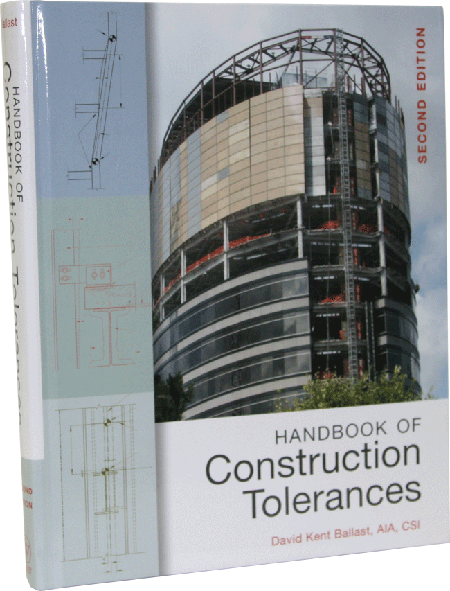 Handbook of Construction Tolerances, Second Edition