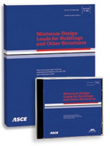 ASCE 7-10 - Minimum Design Loads for Buildings and Other Structures, ASCE/SEI 2010 - Book & CD-Rom Combo Set