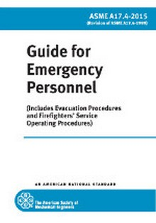 2015 A17.4 Guide for Emergency Personnel