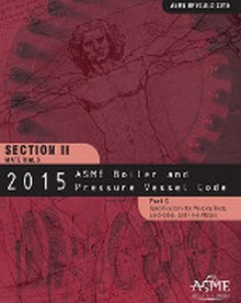 2015 BPVC Section II-Materials Part C-Specifications for Welding Rods Electrodes and Filler Metals