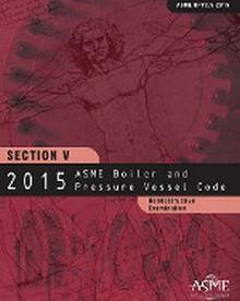 2015 BPVC Section V-Nondestructive Examination