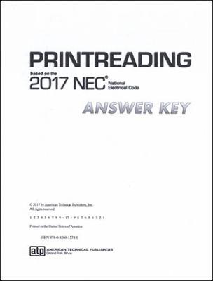 Printreading Based on the 2017 NEC Answer Key