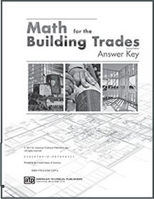 Math for the Building Trades, 2nd Edition Answer Key