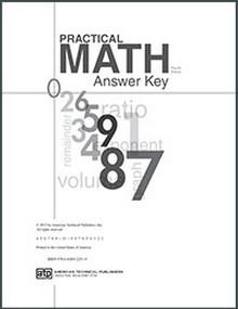 Practical Math, 4th Edition Answer Key