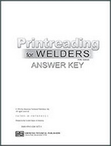 Printreading for Welders Answer Key, 5th Edition