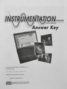 Instrumentation and Process Control, Answer Key, 6th Edition