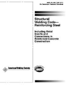 AWS D1.4 2011 - Structural Welding Code - Reinforcing Steel