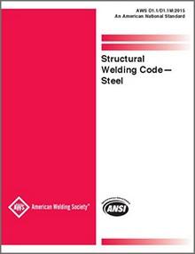 AWS D1.1/D1.1M Structural Welding Code - Steel, 2015 Edition