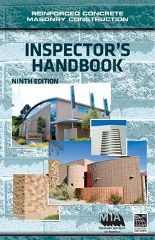 Reinforced Concrete Masonry Construction Inspectors Handbook, 9th Edition