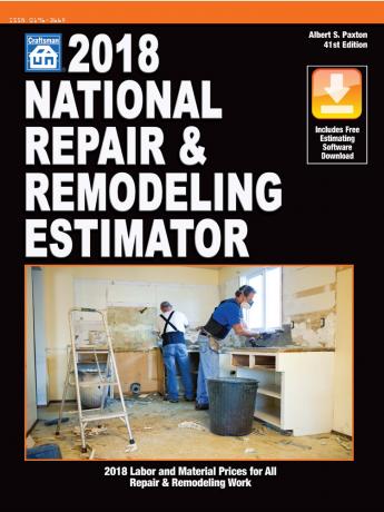 2018 National Repair & Remodeling Estimator