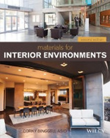 Materials for Interior Environments, 2nd Edition