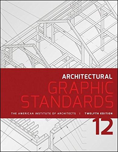 2015 Architectural Graphic Standards (AGS), 12th Edition