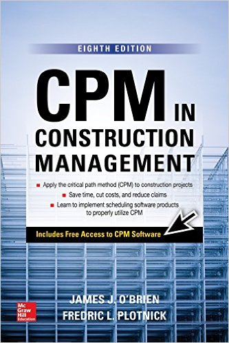 CPM in Construction Management, 8th Edition