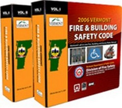 2006 Vermont Fire & Building Safety Code, two-volume set