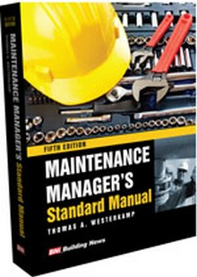 Maintenance Manager's Standard Manual, 5th Edition