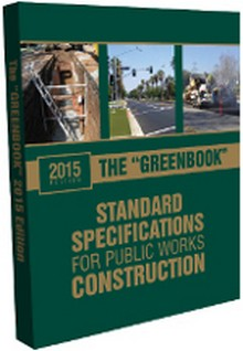 2015 Greenbook Standard Specifications for Public Works Construction