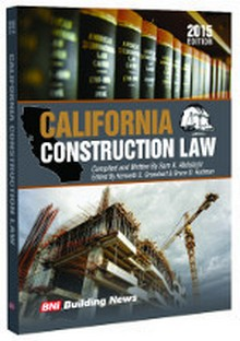 California Construction Law 2015