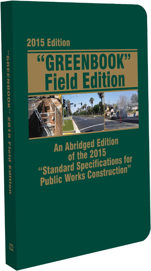 2015 Greenbook, Field Edition