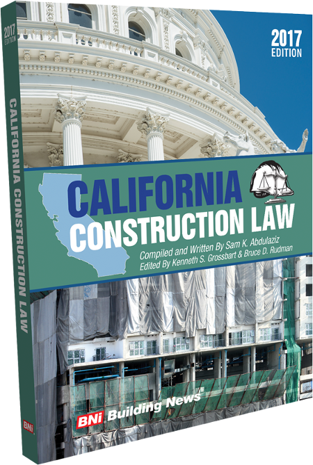 California Construction Law 2017