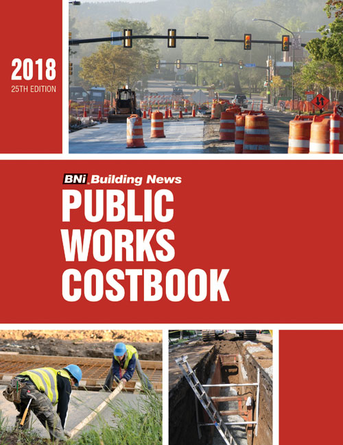 BNI Public Works Costbook 2018