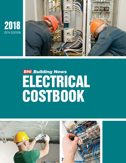 BNI Electrical Costbook 2018