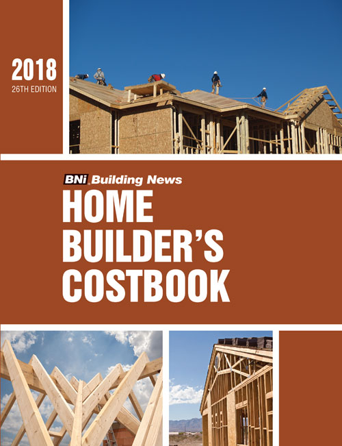 BNI Home Builders Costbook 2018