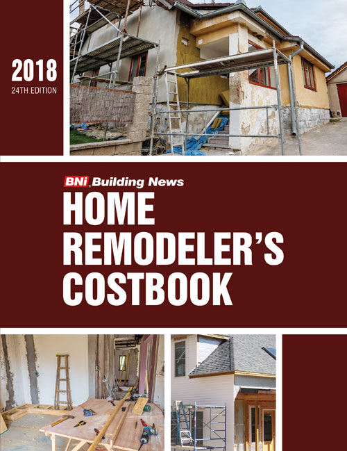 BNI Home Remodeler's Costbook 2018