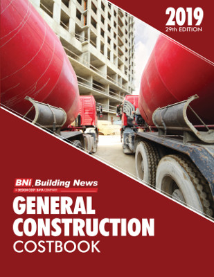 BNI General Construction Costbook 2019