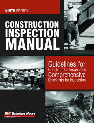 Construction Inspection Manual, 9th Edition