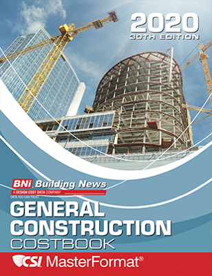 BNI General Construction Costbook 2020