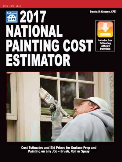 2017 National Painting Cost Estimator