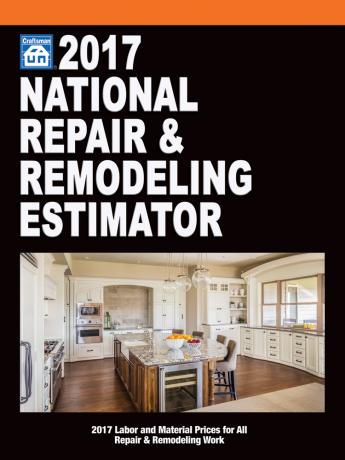 2017 National Repair & Remodeling Estimator
