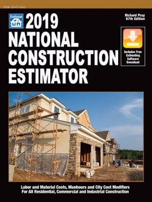 2019 National Construction Estimator