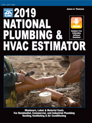 2019 National Plumbing & HVAC Estimator